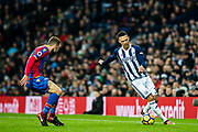 Crystal Palace #18 James McArthur, West Bromwich Albion (3) Kieran Gibbs during the Premier League match between West Bromwich Albion and Crystal Palace at The Hawthorns, West Bromwich, England on 2 December 2017. Photo by Sebastian Frej.