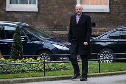 © Licensed to London News Pictures. 09/01/2018. London, UK. Transport Secretary Chris Grayling arrives on Downing Street for the first meeting of the Cabinet after Prime Minister Theresa May's reshuffle. Photo credit: Rob Pinney/LNP