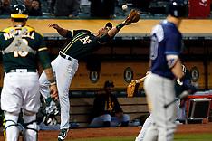 20170717 - Tampa Bay Rays at Oakland Athletics