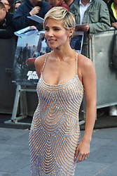 Spanish actress Elsa Pataky arrives for the premiere of Fast&Furious 6 in London, Tuesday 7th May 2013.  Photo by: Max Nash / i-Images