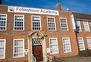 Felixstowe Academy, Suffolk, England