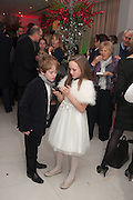 SAMUEL JOSLIN; ISABELLE ALLEN, English National Ballet's celebrates their Christmas season at the London Coliseum,  St Martins Lane hotel. London. 13 December 2012.