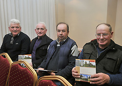Mayo County Council's Heritage office recently held a seminar on the Care &amp; Conservation of Historic Graveyards at the Harlequin Hotel Castlebar pictured at the seminar were Austin Gibbons from Islandeady, Michael Coleman, John Gilboy Foxford and Pascal Murphy Attymass.<br /> Pic Conor McKeown