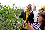 COLOMBIA - Queen maxima vistits Colombia in her capacity special UN Envoy Inclusiv Finance. Visitit Lebrija a citrusfarm. COPYRIGHT ROBIN UTRECHT