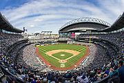 SEATTLE, WA- APRIL 26: A general view of Safeco Field during a game between the Seattle Mariners and the Minnesota Twins on April 26, 2015 in Seattle, Washington. The Twins defeated the Mariners 4-2. (Photo by Brace Hemmelgarn) *** Local Caption ***