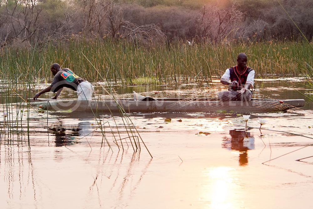 Alberto Carrera, Fisherman, Okavango Delta, Botswana, Africa