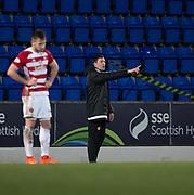 28th March 2018, McDiarmid Park, Perth, Scotland; Scottish Premier League football, St Johnstone versus Hamilton Academical; Hamilton Academical manager Martin Canning