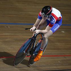 Laura van der Kamp werd derde bij de vrouwen op de 500 meter