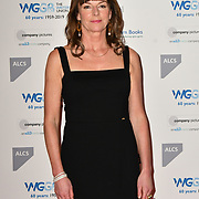 Doon Mackichan attends 2019 Writers' Guild Awards at Royal College of Physicians on 14 January 2019, London, UK