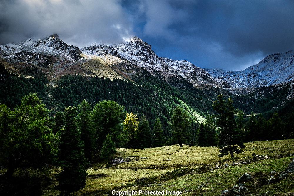 un paysage alpin d'automne 2017<br /> <br /> (OLIVIER MAIRE)