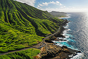 Highway 72, Koko Crater, Honolulu, Oahu, Hawaii, USA