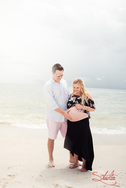 1216 STUDIO LLC Photography New Orleans Florida Beach Maternity Couple Session 2016