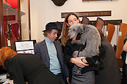 JAMES BROWN; SARAH MURRAY, Judith Watt's Dogs in Vogue BOOK LAUNCH. James Purdey and Sons. 57-58 S. Audley St. London.