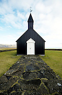 Little chirch at Budhir, Iceland
