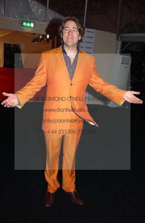 JONATHAN ROSS at the 2006 Glamour Women of the Year Awards 2006 held in Berkeley Square Gardens, London W1 on 6th June 2006.<br /><br />NON EXCLUSIVE - WORLD RIGHTS