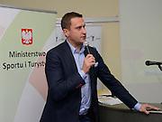 Spala 17/11/2014<br /> Konferencja trener&oacute;w szkolenia olimpijskiego<br /> Na zdj. Adam Krzesiński<br /> Fot. Piotr Hawalej