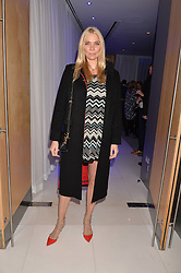 Jodie Kidd at the Giselle Premier VIP Party, St.Martin's Lane Hotel, London England. 11 January 2017.