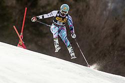 SIMADER Sabrina of Kenya competes during the Ladies' GiantSlalom at 56th Golden Fox event at Audi FIS Ski World Cup 2019/20, on February 15, 2020 in Podkoren, Kranjska Gora, Slovenia. Photo by Matic Ritonja / Sportida