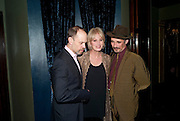 DAVID HYDE PIERCE; JOANNA LUMLEY; MARK RYLANCE, LA B&aelig;TE PRESS NIGHT, COMEDY THEATRE, PANTON STREET, SW1 After party at CafŽ de Paris, 3-4 Coventry Street, 7 July 2010. .-DO NOT ARCHIVE-&copy; Copyright Photograph by Dafydd Jones. 248 Clapham Rd. London SW9 0PZ. Tel 0207 820 0771. www.dafjones.com.<br /> DAVID HYDE PIERCE; JOANNA LUMLEY; MARK RYLANCE, LA B&Ecirc;TE PRESS NIGHT, COMEDY THEATRE, PANTON STREET, SW1 After party at Caf&eacute; de Paris, 3-4 Coventry Street, 7 July 2010. .-DO NOT ARCHIVE-&copy; Copyright Photograph by Dafydd Jones. 248 Clapham Rd. London SW9 0PZ. Tel 0207 820 0771. www.dafjones.com.