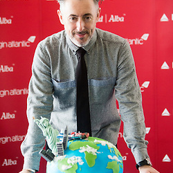 Alan Cumming helps to launch Delta Air Lines flight from Edinburgh to New York