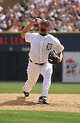 Apr 11, 2006; Detroit, MI, USA:  Detroit Tiger pitcher Joel Zumaya, Comerica Park vs. Chicago White Sox.