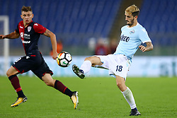 October 22, 2017 - Rome, Italy - Serie A Lazio v Cagliari.Luis Alberto of Lazio at Olimpico Stadium in Rome, Italy on October 22, 2017. (Credit Image: © Matteo Ciambelli/NurPhoto via ZUMA Press)