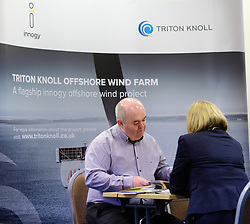 Business Lincolnshire - Meet the Suppliers event held at Boston College.<br /> Triton Knoll is a flagship offshore wind farm in the latter stages of development, and is owned by innogy, one of Europe&rsquo;s leading renewables businesses.  The project is being delivered by J Murphy &amp; Sons and Siemens Transmission and Distribution Ltd.<br /> <br /> Picture: Chris Vaughan Photography<br /> Date: January 31, 2018