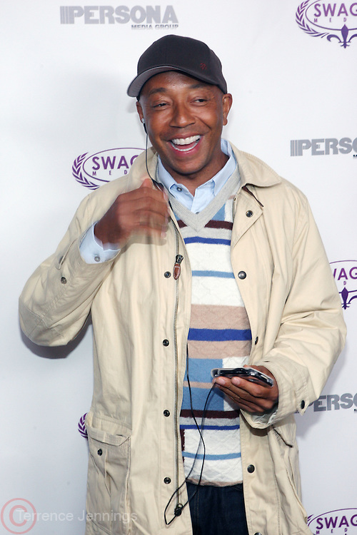Russell Simmons at The Persona Magazine Launch Party hosted by Russell Simmons held at the Griffen on September 11, 2009