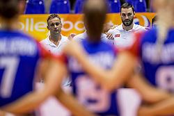 23-08-2017 NED: World Qualifications Czech Republic - Bulgaria, Rotterdam<br /> Coach Zdenek Pommer CZE