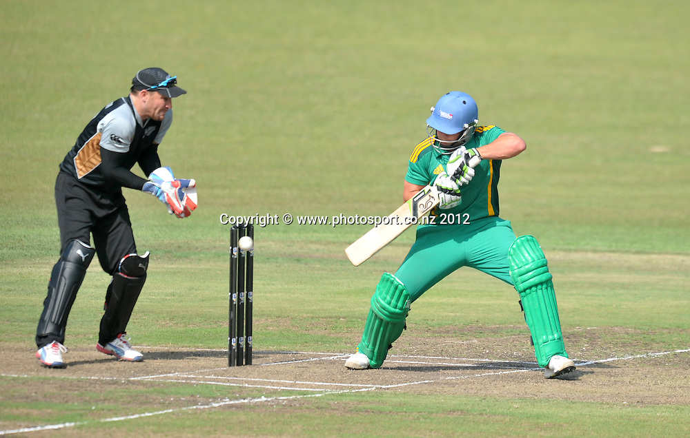 Roelof van der Merwe , South Africa during the 2012 New Zealand Tour South Africa cricket International T20 match between South Africa A v New Zealand at the The Oval  in Pietermaritzburg , December 18 , 2012<br />   <br /> <br /> &copy; Sabelo Mngoma/BackpagePix