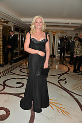 MICHELLE MONE at a birthday dinner for Claire Caudwell for family & friends held at The Dorchester, Park Lane, London on 24th January 2014.