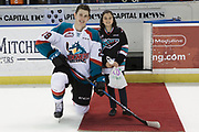 KELOWNA, CANADA - MARCH 14:  Second Star of the Game Nolan Foote #29 of the Kelowna Rockets at the Kelowna Rockets game on March 14, 2018 at Prospera Place in Kelowna, British Columbia, Canada.  (Photo By Cindy Rogers/Nyasa Photography,  *** Local Caption ***
