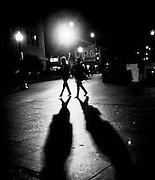 Night walk in the Shaw neighborhood of Washington, DC