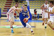LIGNANO SABBIADORO, 07 LUGLIO 2015<br /> BASKET, EUROPEO MASCHILE UNDER 20<br /> ITALIA-CROAZIA<br /> NELLA FOTO: Alessandro Cappelletti<br /> FOTO FIBA EUROPE/CASTORIA