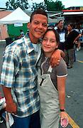 PUERTO RICO, SAN JUAN teenage, student couple on a date in  Old San Juan