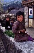 Children, Bumthang Province, Bhutan