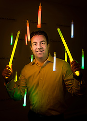 Brent Stern, director of commercial sales for Cyalume Technologies. Cyalume Technologies designs and manufactures non-pyrotechnic tactical products and training solutions for the world's militaries and law enforcement agencies. Cyalume, first created the light stick over 40 years ago and is the exclusive supplier to the U.S. and NATO-country militaries for all their chemical light needs. The companies military contracts represent about 1/3 of their $41.5 million annual revenue.