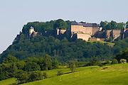 Festung Koenigstein, Saechsische Schweiz, Elbsandsteingebirge, Sachsen, Deutschland.|.Saxon Switzerland, Fort Koenigstein, Saxony, Germany