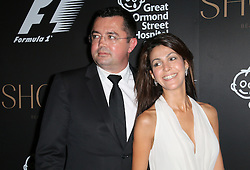 Tamara Boullier; Eric Boullier; McLaren, F1 Party in aid of Great Ormond Street Hospital Children's Charity, Victoria and Albert Museum, London UK, 02 July 2014, Photo by Richard Goldschmidt © Licensed to London News Pictures. 03/07/2014