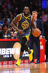 STYLEPREPENDLOS ANGELES, CA - NOVEMBER 12: Golden State Warriors Forward Draymond Green (23) brings the ball up the court during a NBA game between the Golden State Warriors and the Los Angeles Clippers on November 12, 2018 at STAPLES Center in Los Angeles, CA. (Photo by Brian Rothmuller/Icon Sportswire) (Credit Image: © Brian Rothmuller/Icon SMI via ZUMA Press)