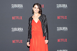 Rosa Diletta Rossi at the Red Carpet of the series Suburra 2 at Circolo Degli Illuminati in Rome, Italy, 20 February 2019 .Dress: Les Jolies Filles, Jacket: Marella  (Credit Image: © Lucia Casone/Soevermedia via ZUMA Press)