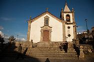 Linhares da Beira Church, in Guarda, Portugal.