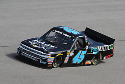 November 16, 2018 - Homestead, FL, U.S. - HOMESTEAD, FL - NOVEMBER 16: Justin Fontaine runs in the final NASCAR Camping World Truck Series practice for the Ford EcoBoost 200 on November 16, 2018, at Homestead-Miami Speedway in Homestead, FL. (Photo by Michael Bush/Icon Sportswire) (Credit Image: © Michael Bush/Icon SMI via ZUMA Press)