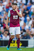 Erik Pieters (Burnley) during the Premier League match between Brighton and Hove Albion and Burnley at the American Express Community Stadium, Brighton and Hove, England on 14 September 2019.