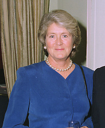 LADY SUMNER at a luncheon in London on 15th October 1997.MCC 10 WOLO