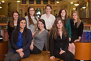 The executive board of Ohio Women in Business.  Photo by Ohio University / Jonathan Adams