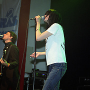 The Kills playing during the Iceland Airwaves. Club Nasa, Reykjavik, Iceland, 2003