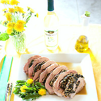 Sherry Thompson Schie's Dandelion Stuffed Pork Loin won first place in last year's Dandelion Cook Off. She'll be competing again this year!