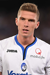 August 27, 2017 - Naples, Naples, Italy - Robin Gosens of Atalanta BC during the Serie A TIM match between SSC Napoli and Atalanta BC at Stadio San Paolo Naples Italy on 27 August 2017. (Credit Image: © Franco Romano/NurPhoto via ZUMA Press)
