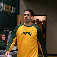 Alex Igual before the home game on December  3 at Centre for Kinesiology, Health and Sport. Credit: Matt Johnson/Arthur Images